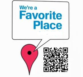 google-favorite-places open now qr codes