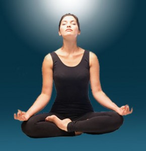 meditation-woman-at the workplace