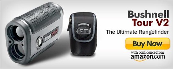 Bushnell Tour V2 Golf Laser Rangefinder detailed review