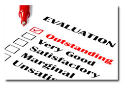 employee evaluation -review