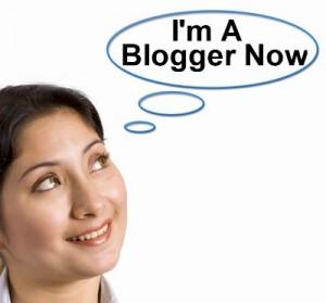 im a blogger now