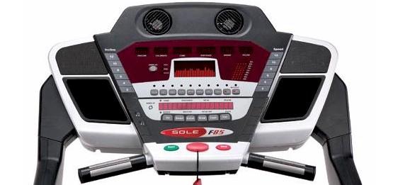 sole-f85-treadmill console