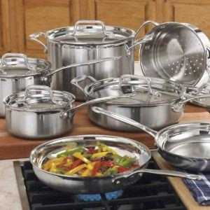 Review On Cuisinart-MCP-12-MultiClad-Pro-Stainless-Steel-12-Piece-Cookware-Set