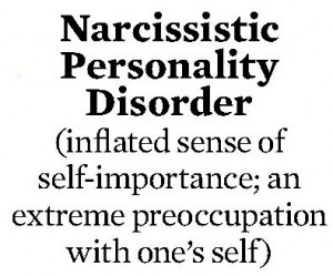 the traits of a narcissistic-personality-disorder