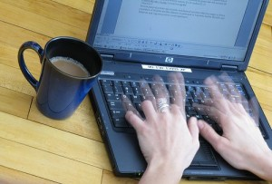 working at home as a virtual workplace