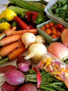 vitamin c and beta carotene based-food