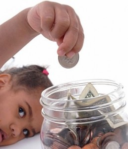 teaching your kids about saving money
