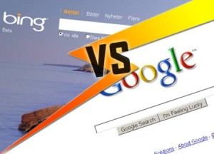 is bing going up against google search engine