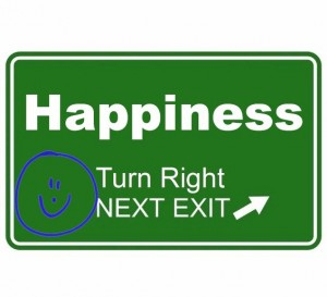 getting on the happiness on ramp of life