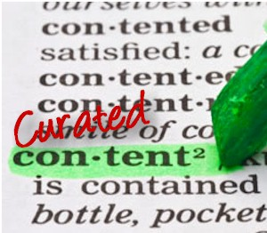 how to get your site listed by curating content