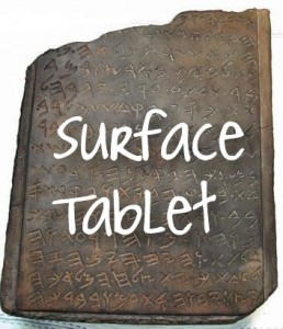 the microsoft surface tablet PC reviewed