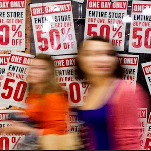 why  sales will get shoppers excited