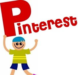 someone holding up a pinterest sign
