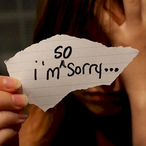 learn how to say you're sorry