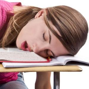 the lack of sleep