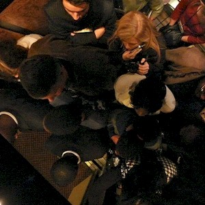 too many people in the elevator