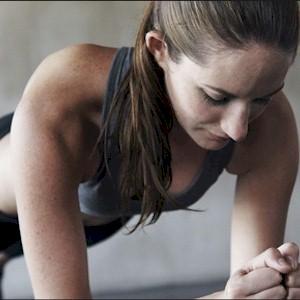 doing intense exercise training