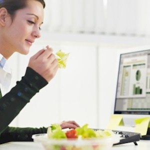 eating healthier in the workplace